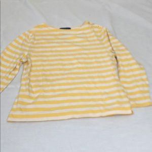 Faconnable stripped long sleeve